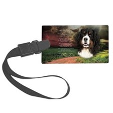 godmadedogs(oval) Luggage Tag