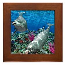 oceanworld_368_V_F Framed Tile