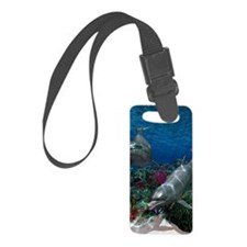 oceanworld11x17_print Luggage Tag