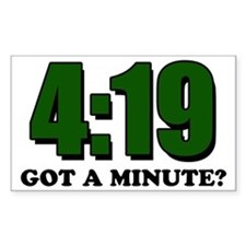 Got a minute? Decal