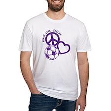 P,L,Soccer, purple Shirt
