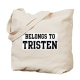 Belongs to Tristen Tote Bag