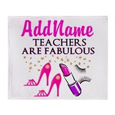 CUSTOMIZE TEACHER Throw Blanket