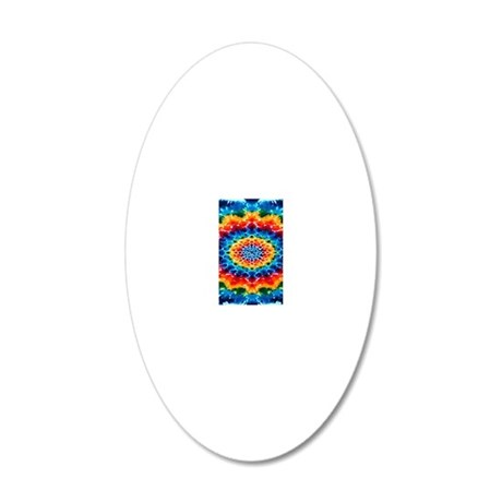 mandalaTD4 20x12 Oval Wall Decal