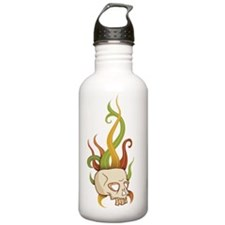 SkullFlourish_apparel Water Bottle