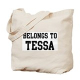 Belongs to Tessa Tote Bag