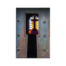 Paris. Cross inside mausoleum at  Rectangle Magnet