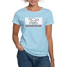 Pirate Girls Kick Booty T-Shirt
