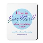 Easy World Vertical Mousepad
