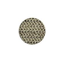 woven wallet Mini Button