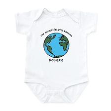 Revolves around Douglass Infant Bodysuit