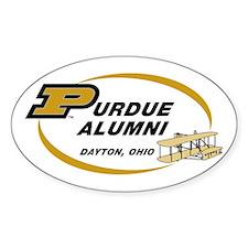 Purdue Alumni Oval Decal
