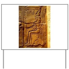 Relief of Pharaoh Yard Sign