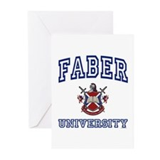 FABER University Greeting Cards (Pk of 10)