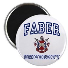 "FABER University 2.25"" Magnet (10 pack)"