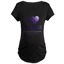 HeartTango Maternity Dark T-Shirt