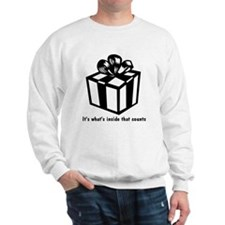 Gift Box - Black & White Sweatshirt