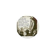 sherlockquote_truthsmalls Mini Button