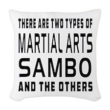 Vovinam Viet Vo Dao Designs Woven Throw Pillow