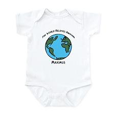 Revolves around Maximus Infant Bodysuit