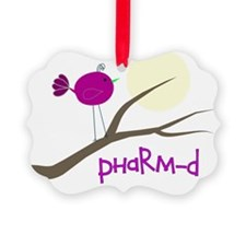 PharmD Bird Picture Ornament