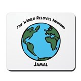 Revolves around Jamal Mousepad