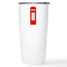 British Red Telephone Box Travel Mug