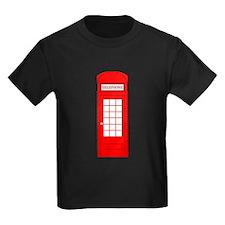 British Red Telephone Box T-Shirt