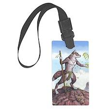 Earth Wolf TEE Luggage Tag