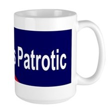 Sticker (Bumper) dissent is patriotic Mug