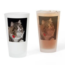 Misha large button template Drinking Glass