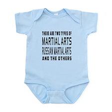 Russian Arts Martial Designs Infant Bodysuit