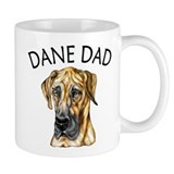 Brindle UC Dane Dad Small Mug