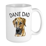 Brindle UC Dane Dad Ceramic Mugs