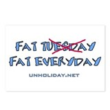 Fat Tuesday Everyday Postcards (Package of 8)