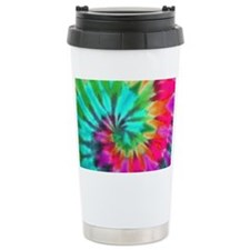 Turq Spiral Laptop Ceramic Travel Mug