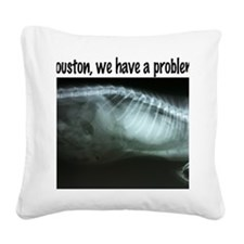 Houston We have a problem Square Canvas Pillow