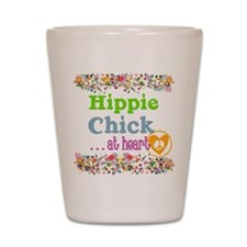 pillow-hippie-chick Shot Glass