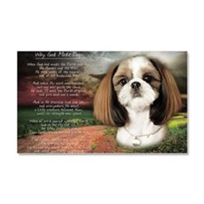 godmadedogs(laptop) Car Magnet 20 x 12