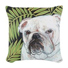 MouseLite Fern Woven Throw Pillow