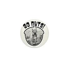 rally-squirrel-02_go-nuts_05 Mini Button
