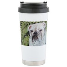 5x7 Fern Ceramic Travel Mug