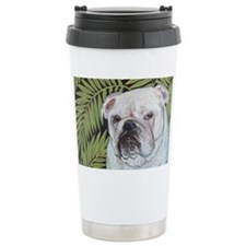 8x10 Fern Ceramic Travel Mug