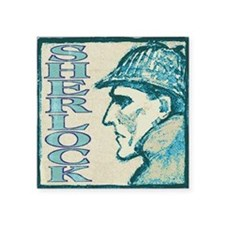 "sherlockfds_smalls Square Sticker 3"" x 3"""
