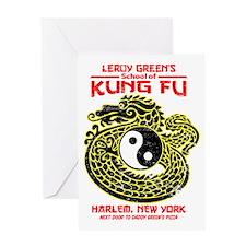 LeroyGreensKungFu Greeting Card