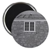 Black and White Window Magnet