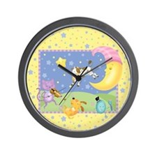 Cute Nursery rhymes Wall Clock