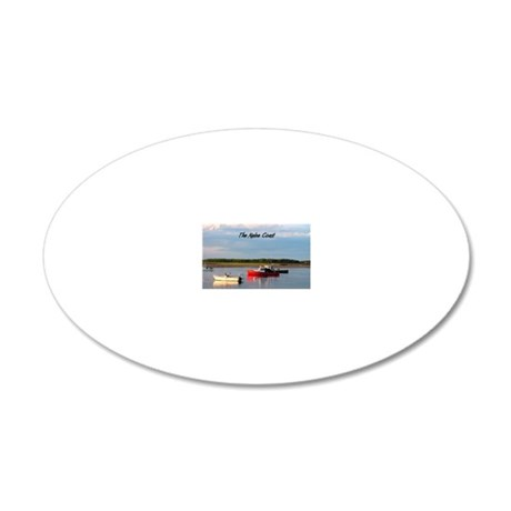 016 20x12 Oval Wall Decal