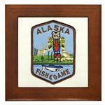 Alaska Game Warden Framed Tile