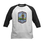 Alaska Game Warden Kids Baseball Jersey